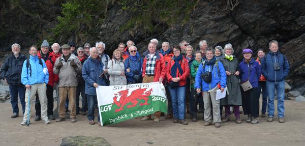 Groepsfoto LGV Zuid-Wales, 2017