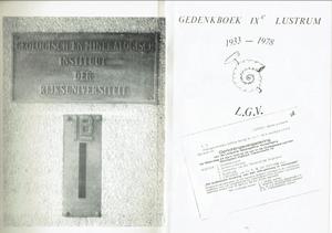 De Leidse Geoloog 1978, deel-1, lustrumuitgave