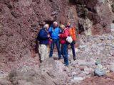 Freshwater West; Ordovicium (Llanvirn) en Siluur (Wenlock), via Devoon (ORS) naar het Onder Karboon (Avon Groep)