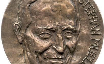 Stephan Mueller medaille voor Cees Passchier, 2017