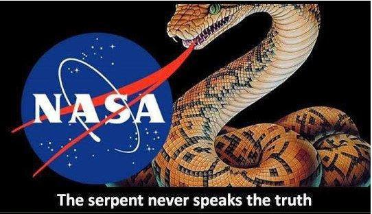 NASA - The serpent never speaks the truth