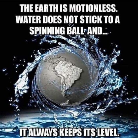 The Earth is motionless